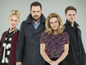 Danny Dyer, Kellie Bright, Maddy Hill and Sam Strike chat about their roles.