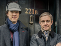 Sherlock: The Network includes exclusively shot video of the BBC drama's stars.