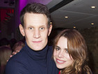 Billie Piper supports Matt Smith at American Psycho press night