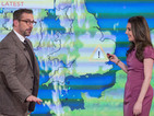 Anchorman's Steve Carell hijacks Daybreak's weather - video