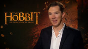Benedict Cumberbatch talks to Digital Spy about playing the dragon 'Smaug' in the second part of 'The Hobbit' trilogy.