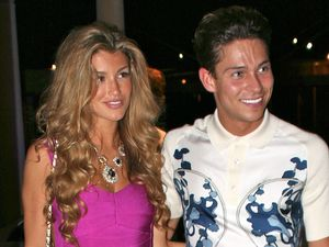 Celebrities at the Palazzo Versace Hotel, Gold Coast, Australia - 09 Dec 2013 Amy Willerton and Joey Essex