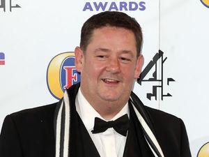 Johnny Vegas at the British Comedy Awards at Fountain Studios in Wembley