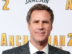 Will Ferrell attending the premiere of Anchorman 2: The Legend Continues, at the Vue Cinema in Leicester Square, London