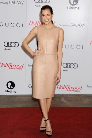 The Hollywood Reporter Women in Entertainment Breakfast, Los Angeles, America - 11 Dec 2013 Allison Williams