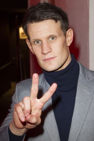 'American Psycho' play press night after party, London, Britain - 12 Dec 2013 Matt Smith