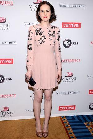 'Downton Abbey' season four cast photo call, New York, America - 10 Dec 2013 Michelle Dockery