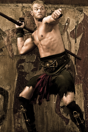 Kellan Lutz as Hercules in The Legend of Hercules