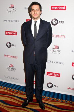 'Downton Abbey' season four cast photo call, New York, America - 10 Dec 2013 Rob James-Collier