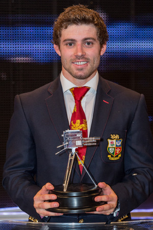 Second place BBC Sports Personality of the Year Leigh Halfpenny