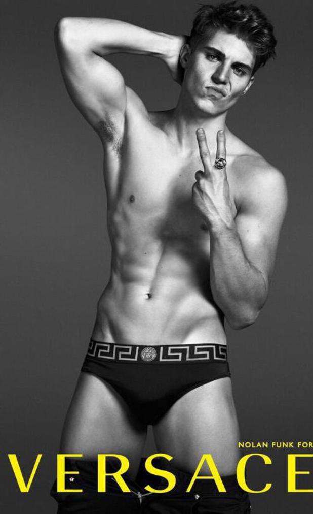 Nolan Gerard Funk, Versace campaign 2014