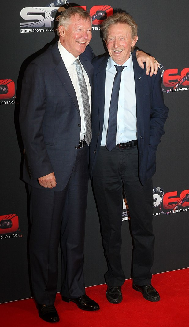 Sir Alex Ferguson and Denis Law