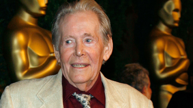 Peter O'Toole at the 2007 Oscar nominees luncheon
