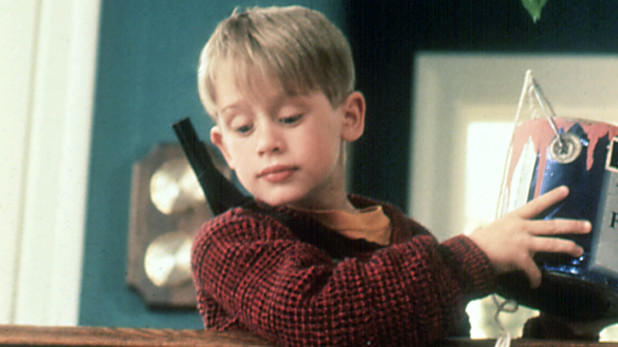 Macaulay Culkin in 'Home Alone' (1990)
