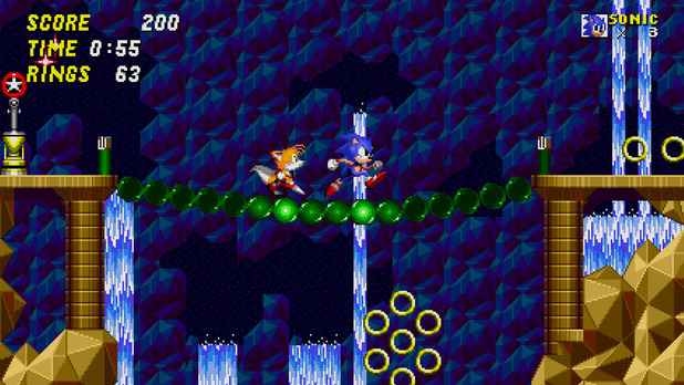 Sonic 2 Hidden Palace Zone