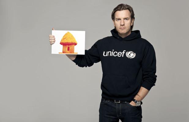 UNICEF Ambassador Ewan McGregor