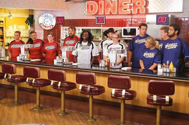 The Diner Challenge during episode 9 of The Biggest Loser