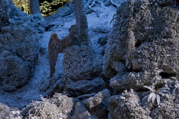 A weeping angel in the Doctor Who Christmas special: 'The Time of the Doctor'