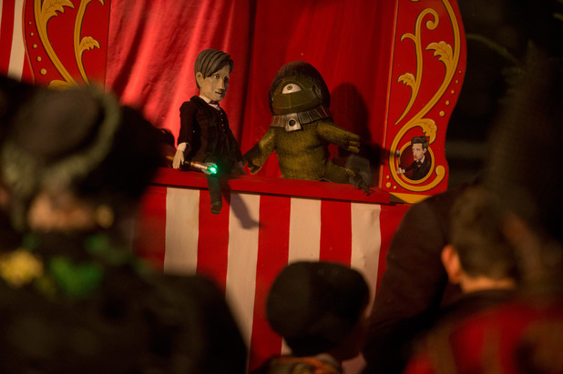 A Doctor puppet show