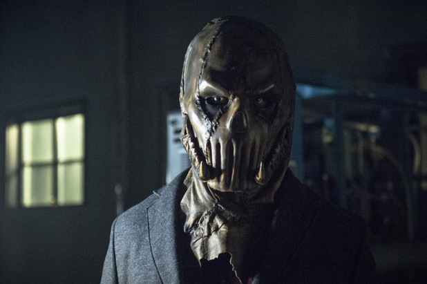 Graham Shiels as The Acolyte in 'Arrow' S02E09: 'Three Ghosts'