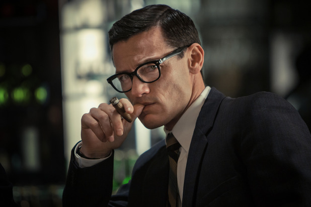 The Great Train Robbery: Luke Evans as Bruce Reynolds