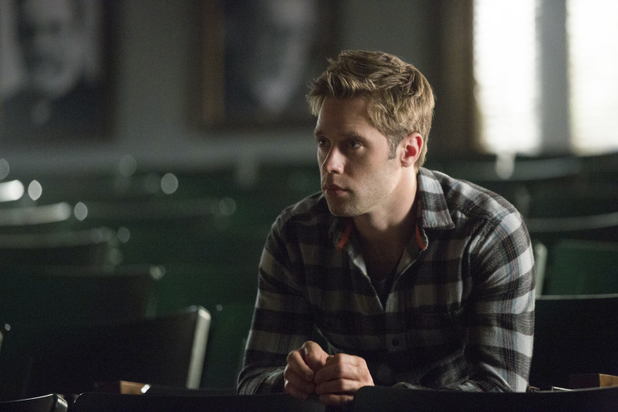 Shaun Sipos as Aaron in The Vampire Diaries: 'Fifty Shades of Grayson'