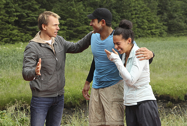 Jason & Amy are crowned the winners of The Amazing Race during the season finale