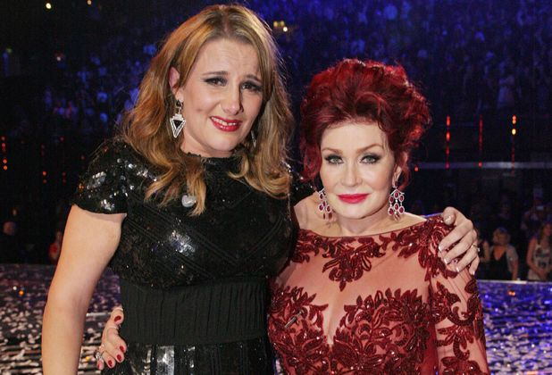 Sam Bailey and Sharon Osbourne
