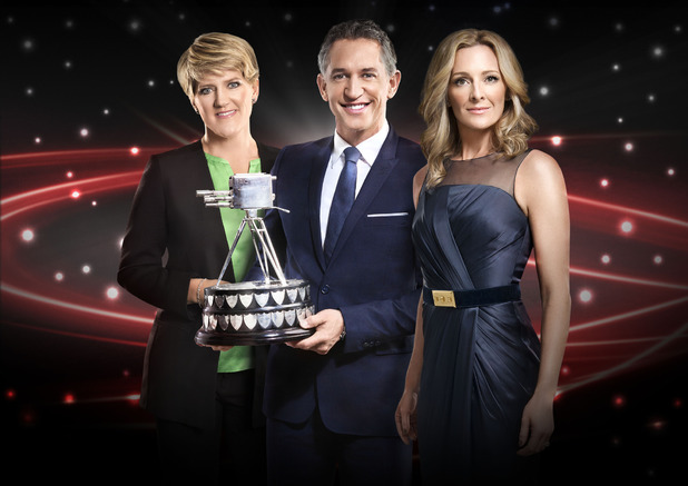 Sports Personality of the Year 2013 artwork: Clare Balding, Gary Lineker and Gabby Logan