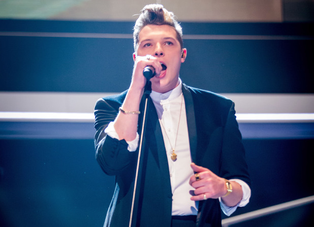 John Newman performs at the Sports Personality of the Year Awards 2013