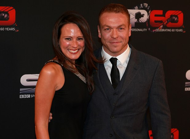 Sir Chris Hoy and wife Sarra Kemp