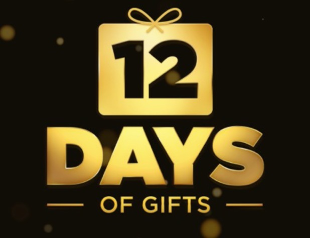 Apple 12 days of gifts app