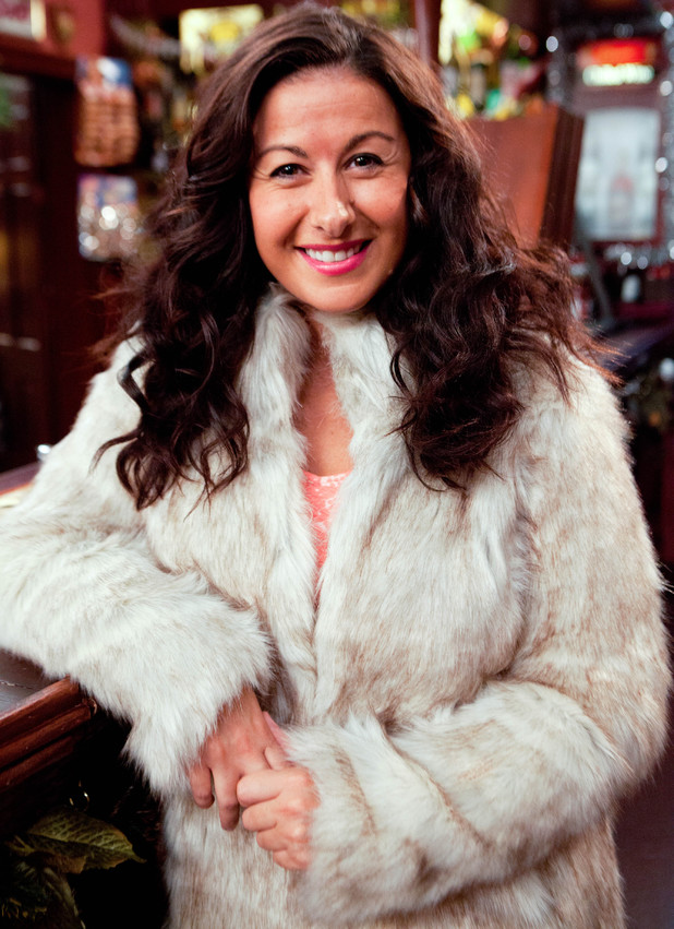 Hayley Tamaddon as Andrea in Coronation Street