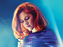 Katy B beats Ellie Goulding's Halcyon into second place.