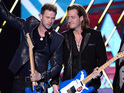 The country music superstars are nominated for four awards on the night.