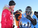Prince Harry at the South Pole with Ivan Castro