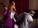 Ronnie is forced to defend herself with Carl in dramatic scenes.
