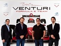 The actor joins forces with Venturi Automobiles to found Venturi Grand Prix.