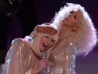 Lady Gaga, Christina Aguilera duet on The Voice - video