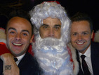 Robbie Williams dresses as Father Christmas for Text Santa - picture