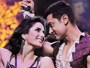Katrina Kaif, Aamir Khan in Dhoom 3