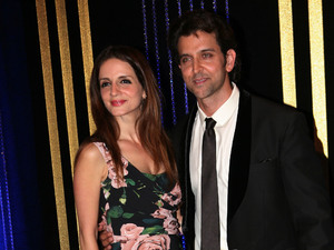 Hrithik Roshan with his wife Sussanne Roshan
