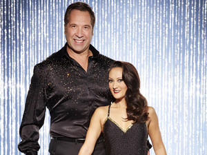 Dancing On Ice All-Stars: David Seaman with pro skater partner Frankie Poultney