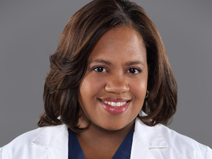 Chandra Wilson as Dr. Miranda Bailey in Grey's Anatomy
