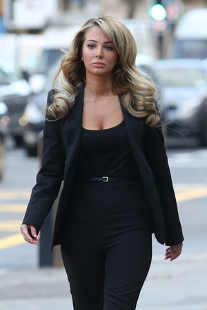 Tulisa Contostavlos at Westminster Magistrates' Court, London, Britain - 19 Dec 2013