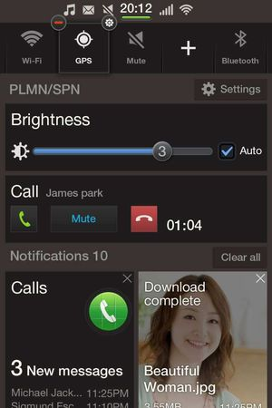 Samsung Tizen screenshot
