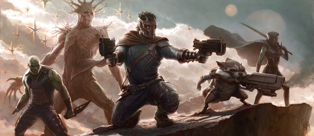 Guardians of the Galaxy concept artwork