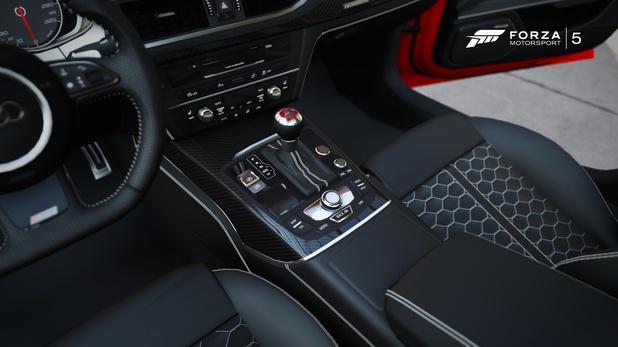 Forza 5 Audi RS7 interior