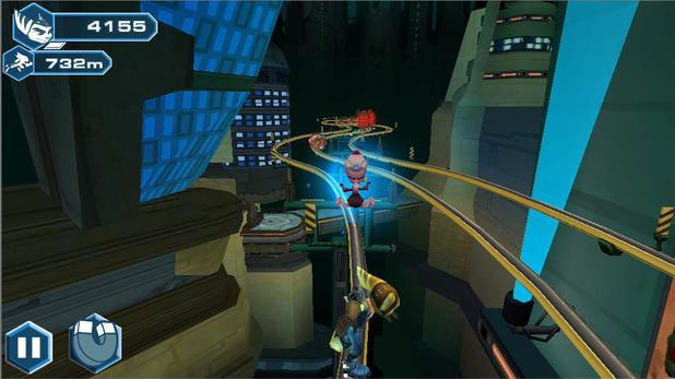 Screenshot from Ratchet & Clank: Before the Nexus on Android