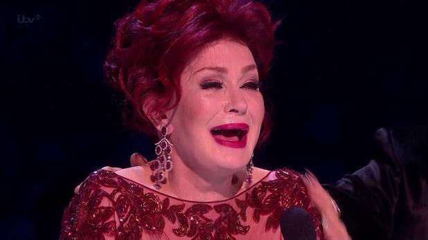 Sharon Osbourne, The X Factor final 2013